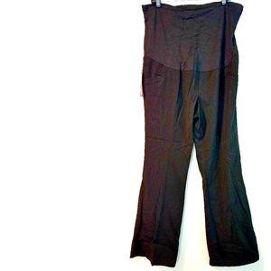 18 Liz Lange Maternity Flex Panel Trousers NWT
